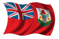 bermudy flagę Obrazy Stock