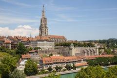Bern столица Швейцарии Стоковые Фото