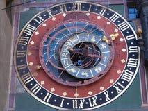 Bern Astronomiczny zegar fotografia royalty free
