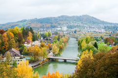 Bern in autumn Stock Photos