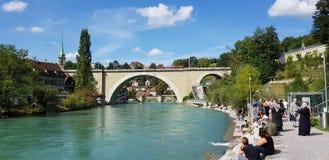 Bern bärengraben, Швейцария стоковые фотографии rf