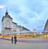 Bern Barenplatz Fotografie Stock