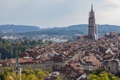 Bern, Capital city of Switzerland, World Heritage Site. Royalty Free Stock Photo