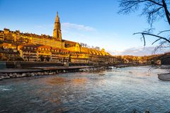 Bern cathedral Royalty Free Stock Photo