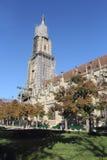 Bern Cathedral, Switzerland. Historical part of Bern, Switzerland stock image