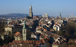Bern center in morning Royalty Free Stock Photography