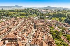 Bern city, capital of Switzerland Stock Images