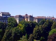 Bern city landscape, Bern stock image