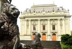 Bern City Theater conhecido na cidade como Stadttheater Bern Konzer Foto de Stock Royalty Free