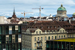 Bern city view Royalty Free Stock Photo