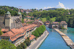 Bern cityscape Royalty Free Stock Photography