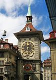 Bern Clock Tower Stock Photo