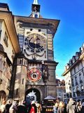 Bern clock tower Stock Photography