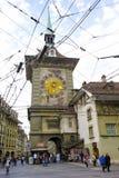 Bern, The Clock Tower, Switzerland Stock Photo