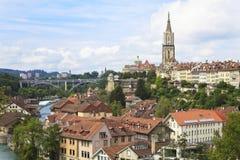 Bern, das Kapital von der Schweiz. Lizenzfreie Stockfotos