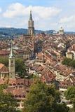 Bern, de hoofdstad van Zwitserland. Royalty-vrije Stock Afbeelding