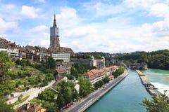 Bern, de hoofdstad van Zwitserland. Stock Foto