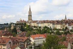 Bern, de hoofdstad van Zwitserland. Royalty-vrije Stock Foto's