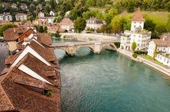 Bern - die Schweiz Stockbild