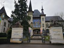 Bern Historical Museum Schweiz Royaltyfria Foton