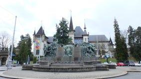 Bern Historical Museum Schweiz Arkivbild