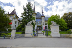 The Bern Historical Museum, Switzerland Royalty Free Stock Image
