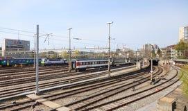 Bern Main Station Railways Fotos de Stock