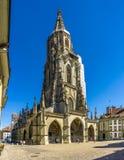 Bern Minster - Kathedraal van Bern in Zwitserland Stock Afbeeldingen