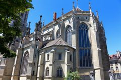 Bern Minster, Switzerland. Royalty Free Stock Images