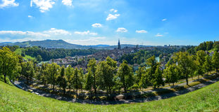 Bern Panorama Foto de Stock Royalty Free