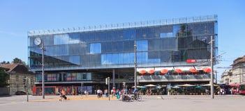 Bern railway station Royalty Free Stock Photography