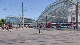 Bern Railway Station. Bern, Switzerland - June 11, 2014: Bern Railway Station. The city of Bern is the capital of Switzerland Stock Images
