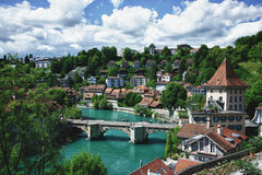Bern. The river Aare, Bern, Switzerland Stock Photography