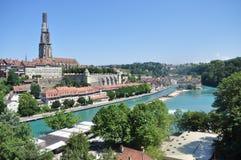 Bern Schweiz Arkivbilder