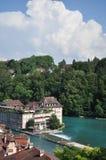 Bern Schweiz Arkivfoton