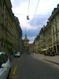Bern Street Fotografia Stock Libera da Diritti