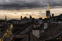 Bern Sunset royalty free stock photo