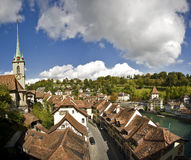 Bern, Switzerland. Rooftop view of Bern, Switzerland Stock Photography