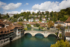 Bern, Switzerland. Beautiful summer day in Bern, Switzerland Royalty Free Stock Image