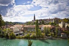 Bern, Switzerland. Beautiful view of Bern, Switzerland capital stock photo
