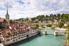 Bern, Switzerland. Beautiful view of Bern, Switzerland capital Royalty Free Stock Images