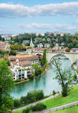 Bern Switzerland in de recente zomer Royalty-vrije Stock Foto