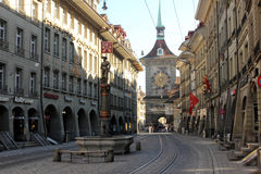 Bern, Switzerland. Historical part of Bern, Switzerland royalty free stock photos