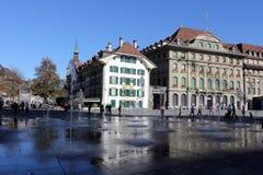 Bern, Switzerland. Historical part of Bern, Switzerland royalty free stock images