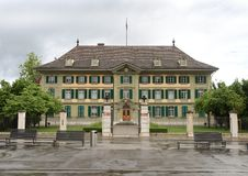 Bern, Switzerland - June 04, 2017: The cantonal Police headquarters (Kantonspolizei) in Bern. Bern, Switzerland - June 04, 2017: The cantonal Police stock photos