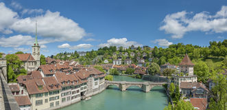 Bern, Switzerland. Panorama of Historical city Bern, Switzerland stock image