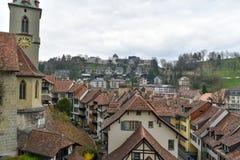 Bern - Switzerland. Rooftops sight at Bern, Switzerland royalty free stock image