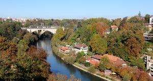 Bern, Switzerland. The view over Bern, Switzerland royalty free stock photos