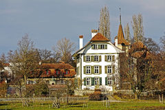 Bern, Switzerland, Wittigkofen Palace Stock Photography