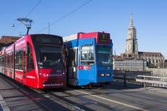 Bern Tramway Stock Photos